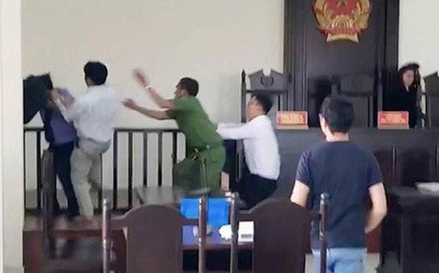 Truy tố 2 anh em đánh kiểm sát viên, công an, phóng viên ở Sài Gòn