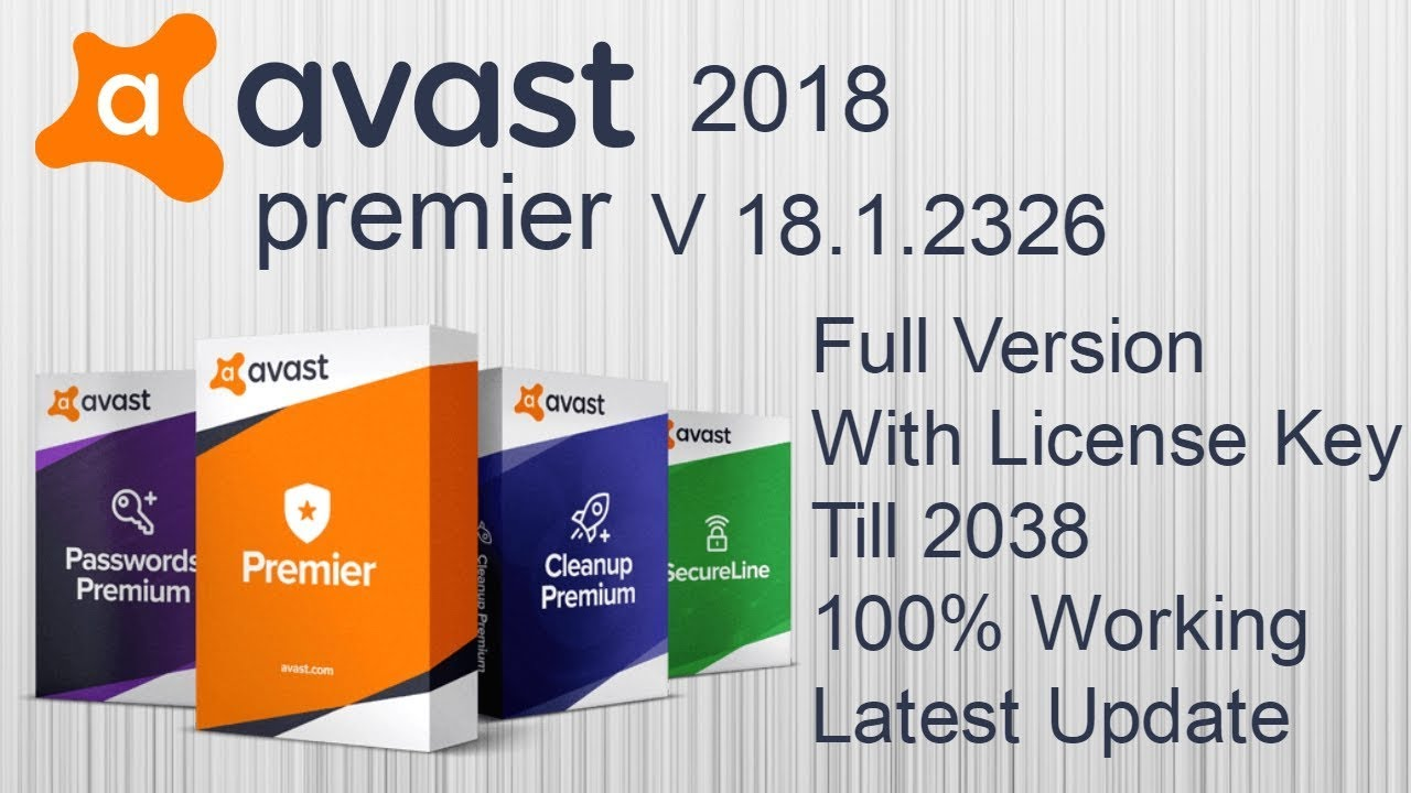free avast cleanup premium activation code 2018