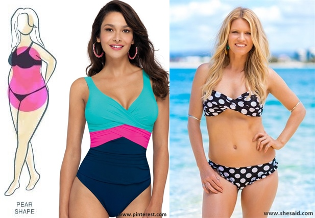 Choose the swimwear that best suits your body type