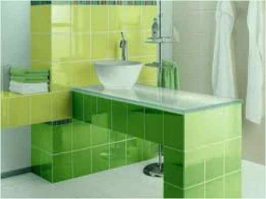 Decorating Ideas For Bathroom With Green Tile Hd F2LL