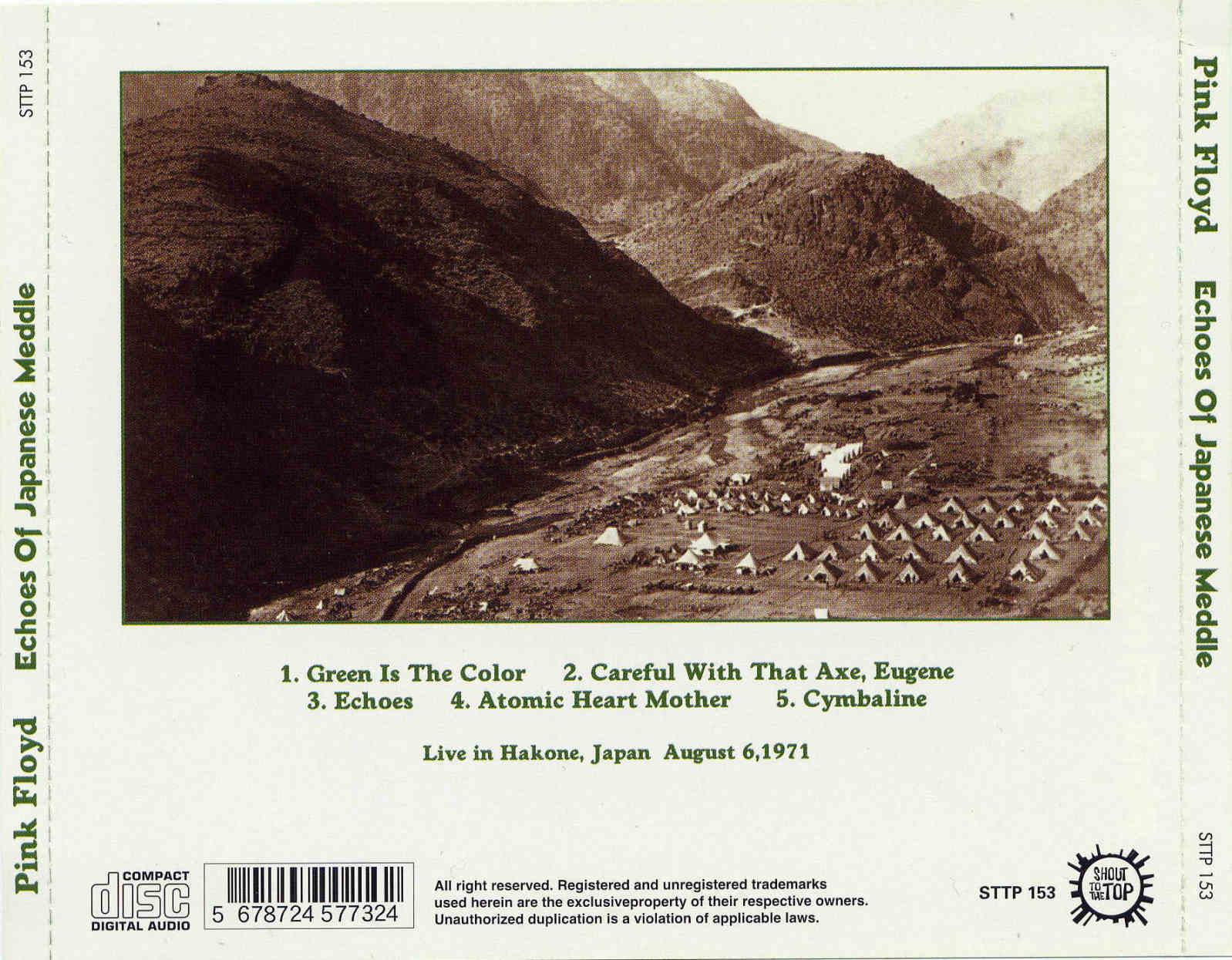 Pink Floyd - Japan '71 - '72