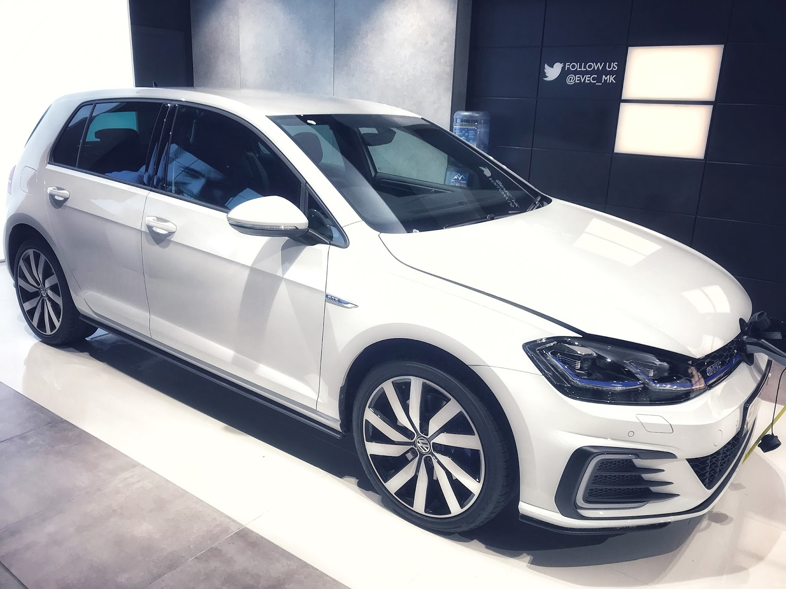 Electric Car Volkswagen Golf