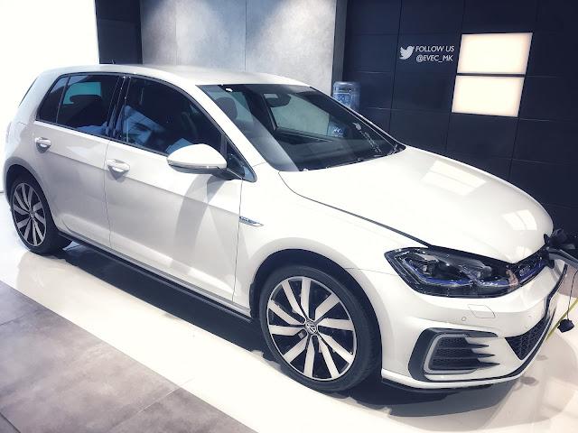 Electric Car Volkswagen Golf