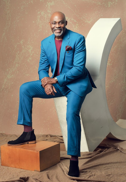Richard Mofe-Damijo's Next Big Thing? He's thinking about to venture into Modeling