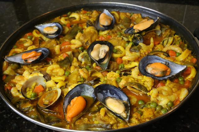 Cocina andaluza Paella mixta