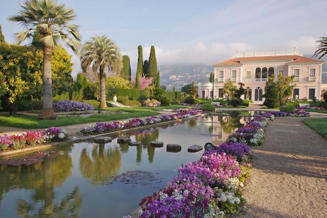 Saint Jean Cap Ferrat Villa Ephrussi - Ph www.coeur-riviera.com
