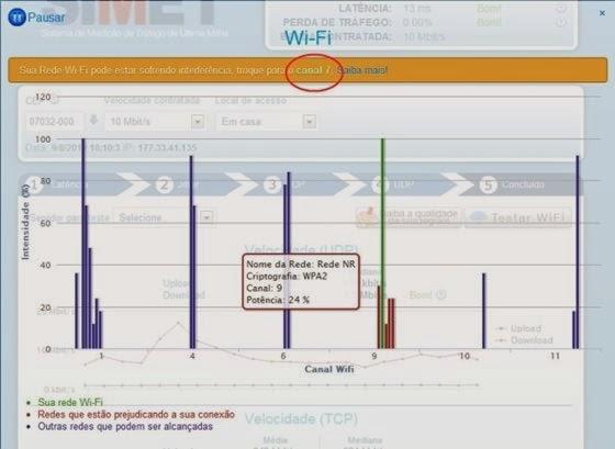 Teste sua conexão wi-fi no site SIMET - 560x409