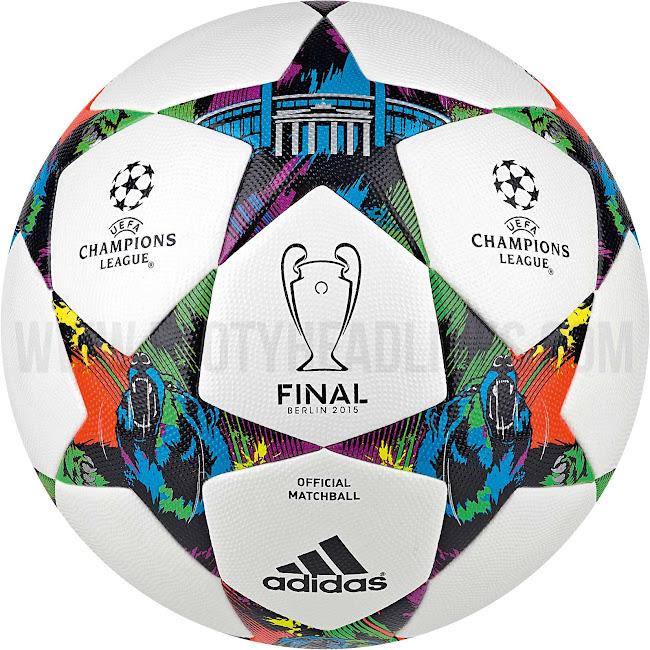 Adidas Finale Berlin 2015 Champions League Ball Released - Footy ...