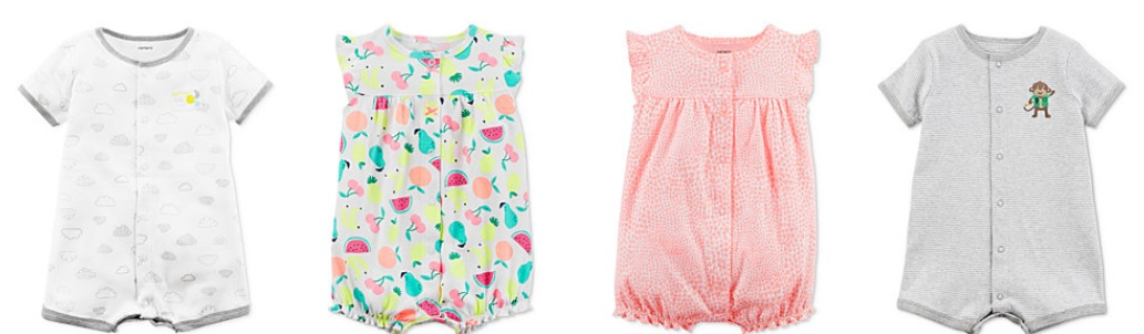 657a3b371e3d The Target Saver  Macy s  Carter s Baby Rompers- As Low As  3.96