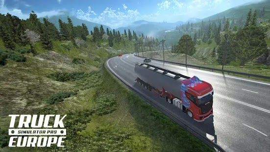 Truck Simulator PRO 2 Apk+Data Free on Android Game Download