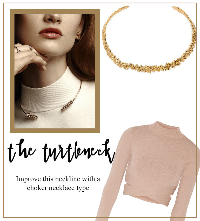 AUrateNewYork Mama Fashionista Blog Moda Necklace Guide turtle neck