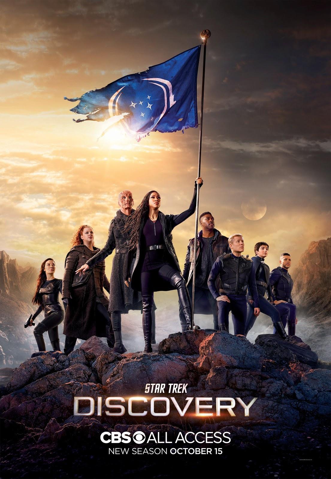 Star Trek Discovery season 3 key art