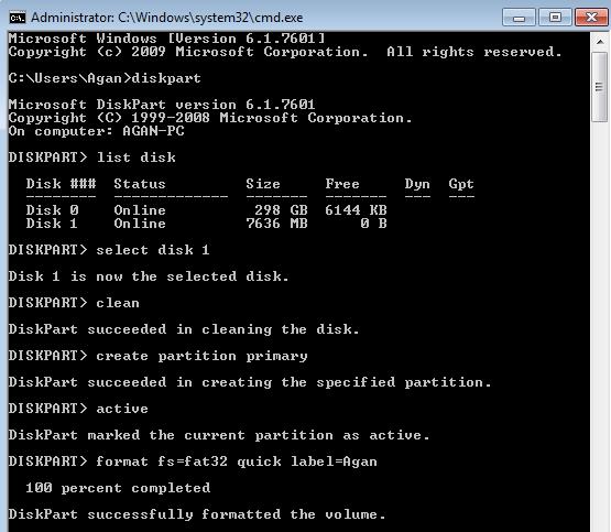 Cara Mudah Membuat Bootable USB Flashdisk Windows Tanpa