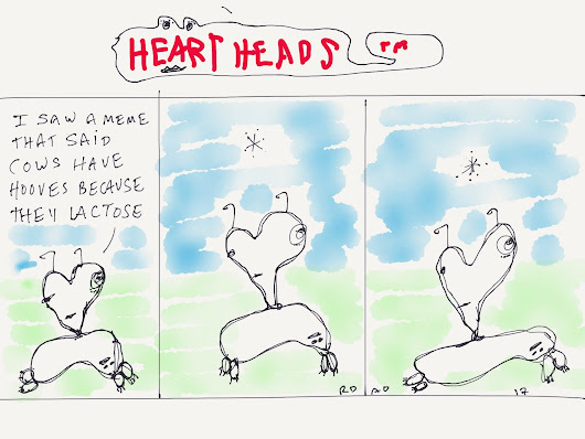 Heart Heads #77 Urine Beast