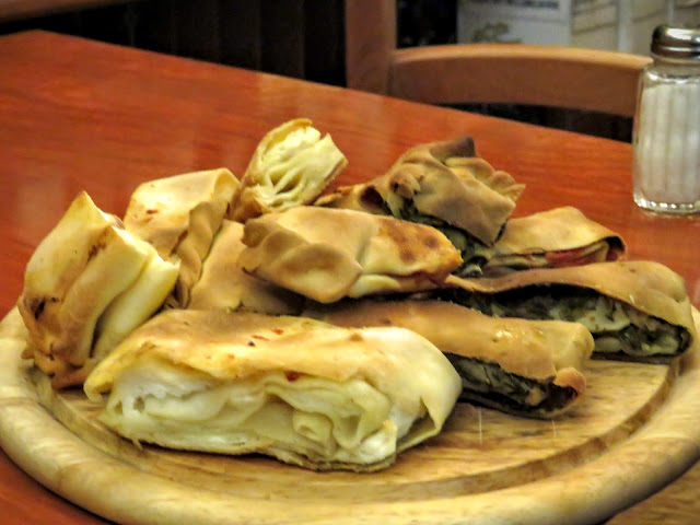 Sicilian Food - filled savory pastry
