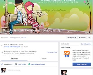 Cara Membuat Undangan Pernikahan Lewat Facebook