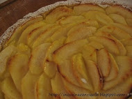 Apple and cream tart