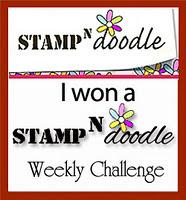 I won at Stamp-n-Doodle - 18 Jan 12