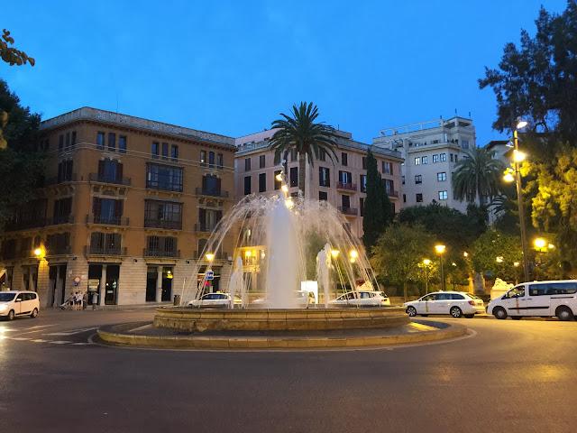 Passeig del Born, Palma de Mallorca.