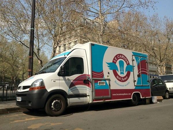 Le Camion Qui Fume Truck Paris