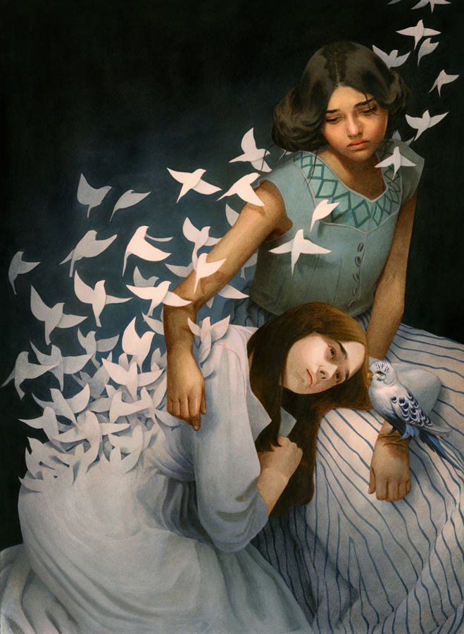 Paintings by Tran Nguyen