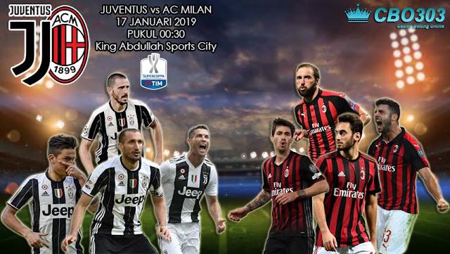 PREDIKSI BOLA: Juventus vs  AC Milan