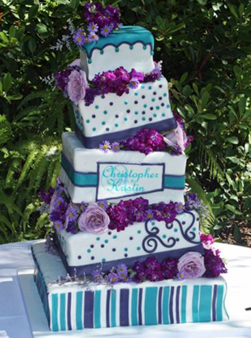 Drops, Flowers, and Polka Dots. Original Cakes.