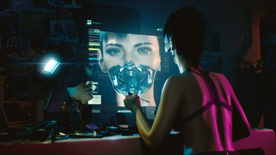 cyberpunk 2077 nudity transhumanism