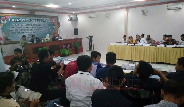 Rapat Pleno Terbuka Penetapan DPT
