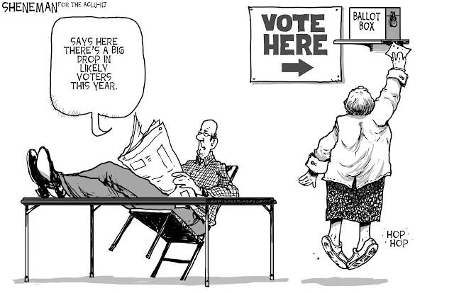 Voter Suppression Humor: NJ-ACLU Cartoon Contest Winner