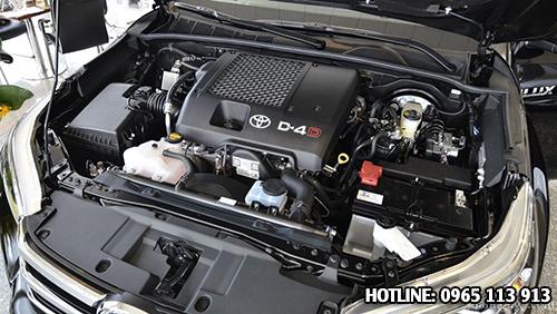Toyota Hilux Revo động cơ
