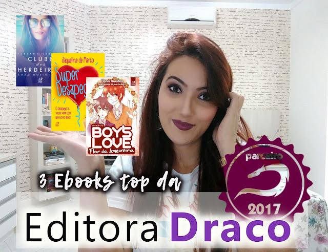 Vídeo no canal: 3 livros da Editora Draco