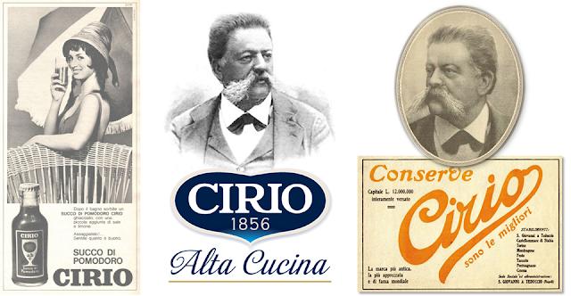 Le CIRIO - L'une des plus anciennes tavernes bruxelloises -  Le dernier témoin des 18 comptoirs de vente et salons de dégustation de spécialités italiennes ouverts en Europe par Francesco Cirio  - Bruxelles-Bruxellons