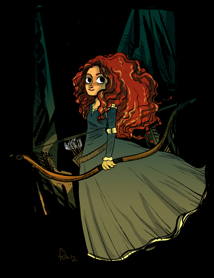 Merida by Faith erin Hicks