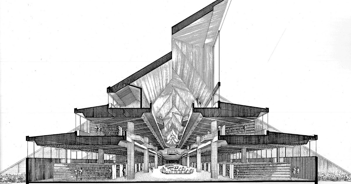 Landmarks And Follies Paul Rudolph S Niagara Falls Library