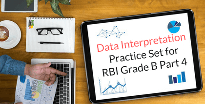 Data Interpretation Practice Set for RBI Grade B Part 4