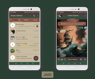 Ship Theme For YOWhatsApp & Fouad WhatsApp By Ameen Suliman