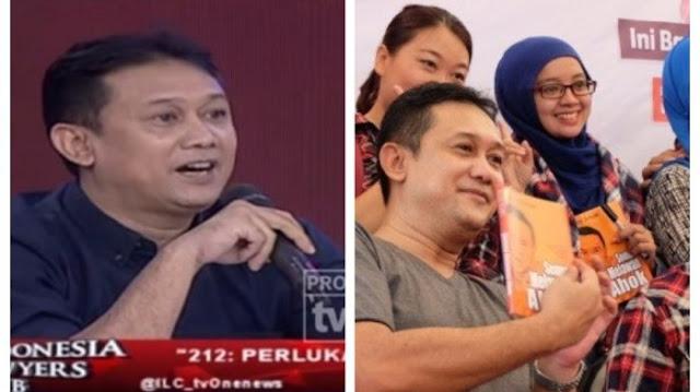 """Azwar Siregar kepada Denny Siregar: """"TUTUP MULUT MU, DEN!"""""""