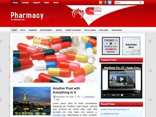 Pharmacy Free WordPress Theme