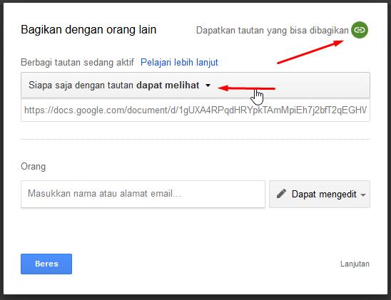 Cara Kirim Dokumen Lewat Google Drive Dokumen Pilihan