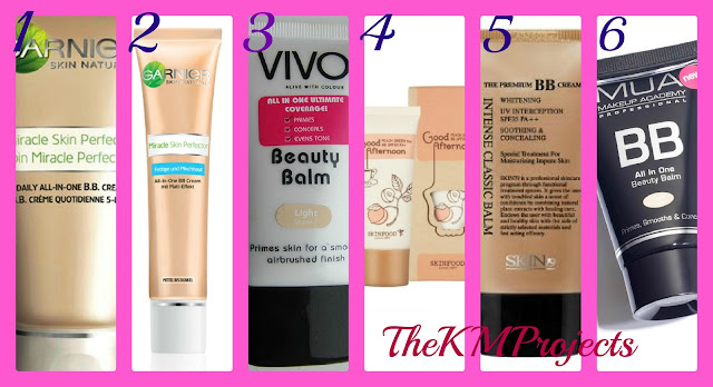 6 BB CREAMS - REVIEW