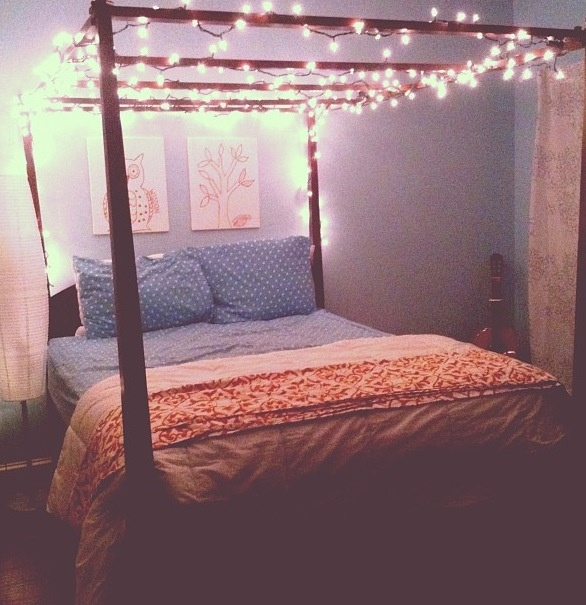Fairy Lights In Bedroom - Interior Designs Room