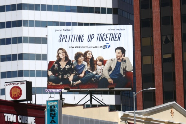Splitting Up Together season 1 billboard