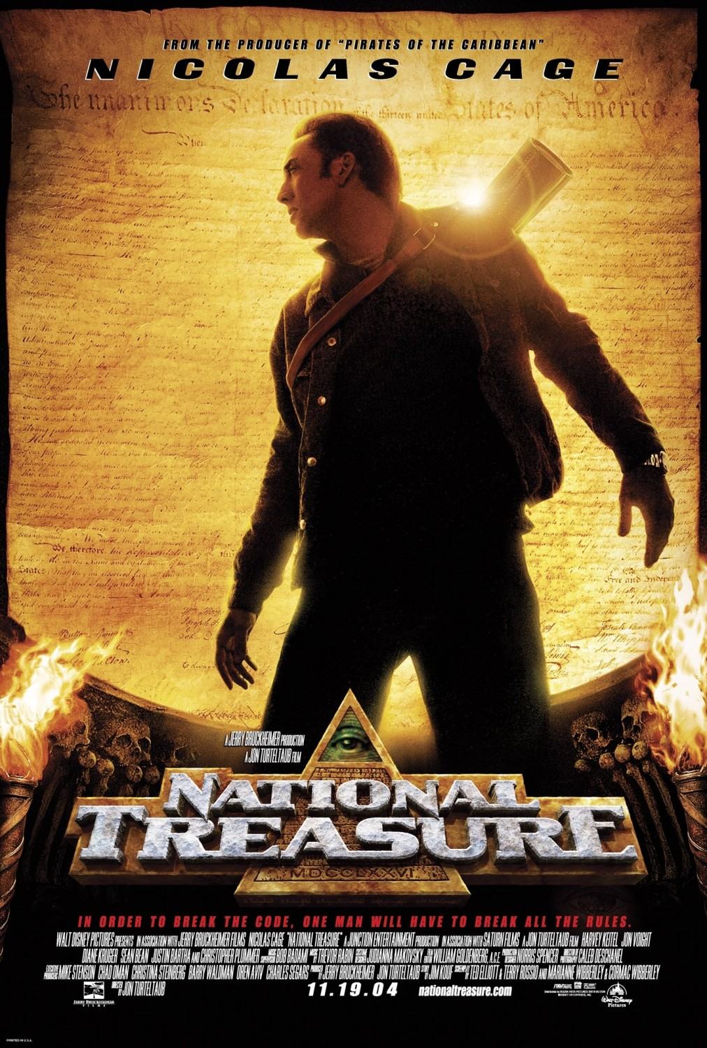 National Treasure (2004) ταινιες online seires oipeirates greek subs