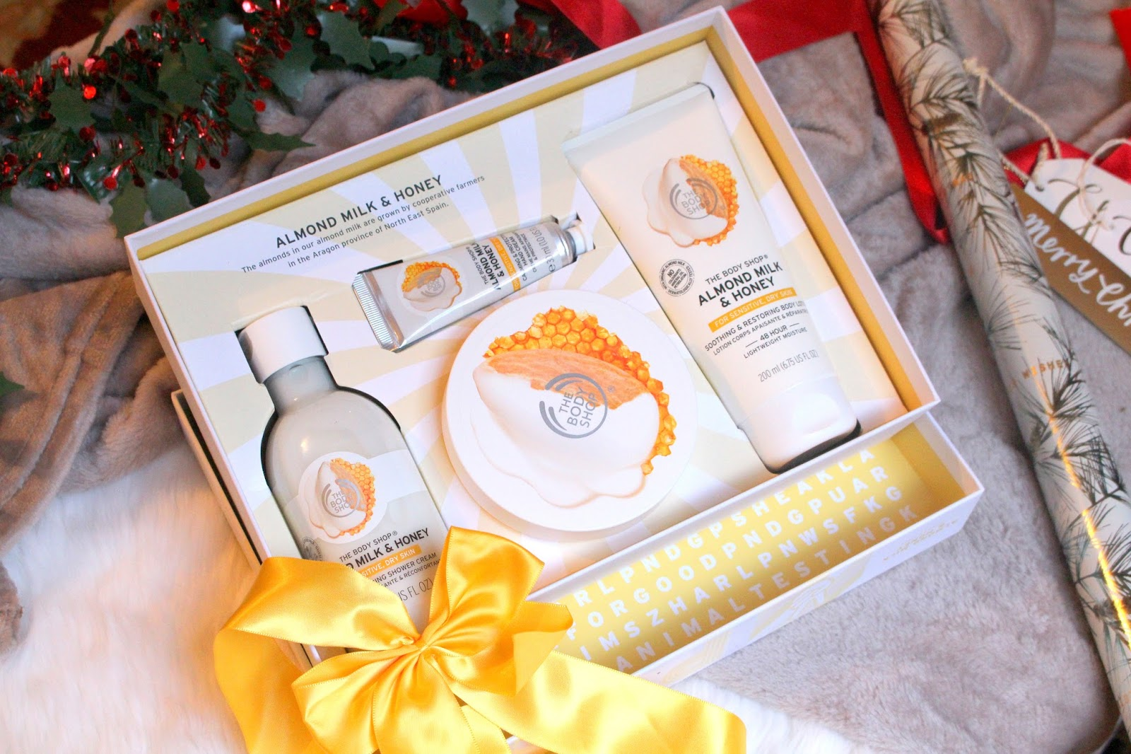 christmas gift set the body shop