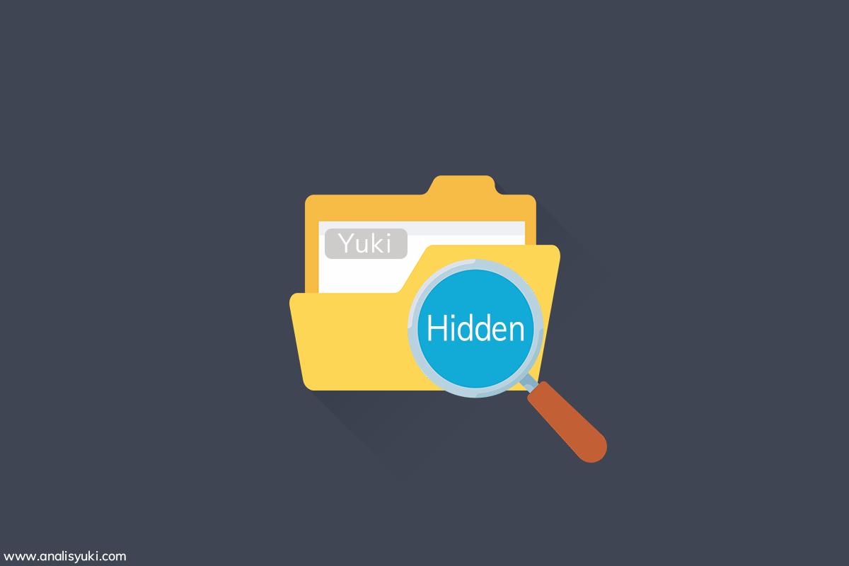 Cara Mudah Menyembunyikan File di Laptop atau Komputer