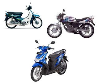 Motor Honda Bekas