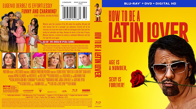 How to Be a Latin Lover Bluray Cover