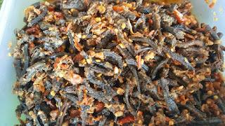 Nasi-belut-kopang