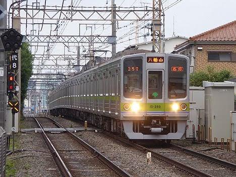 京王電鉄 各停 八幡山4 都営10-000形270F・280F